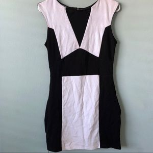 Black and White Bebe Dress M